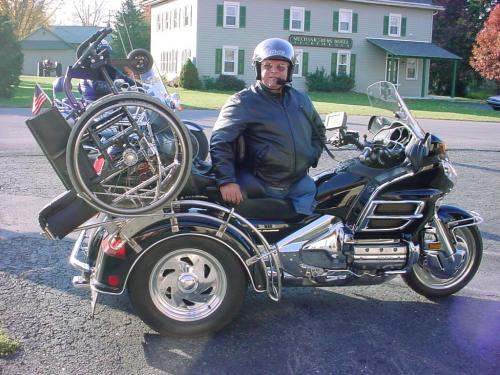wheel chair trike